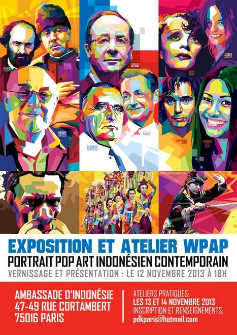 Exposition et Atelier WPAP Portrait Pop Art Indonésien Contemporain le 12 novembre 2013 | Scoop Indonesia | Scoop.it