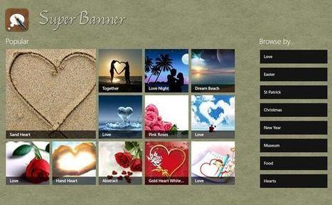 SuperBanner, app Windows 8 para crear bonitas imágenes con textos | Aplicaciones y Herramientas . Software de Diseño | Scoop.it