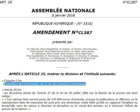 Censure en France: Le PS veut sanctionner le buzz mensonger par 135 000 € (ou la ruine pour tous !) | Intelligence Web | Scoop.it