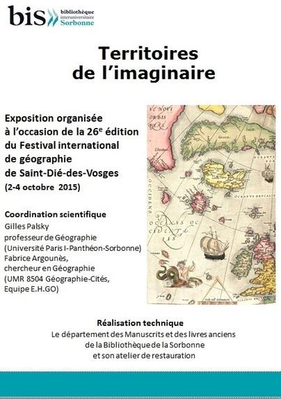 Bibliothèque interuniversitaire de la Sorbonne | Le blog de la bibliothèque de la Sorbonne | Géographie : les dernières nouvelles de la toile. | Scoop.it