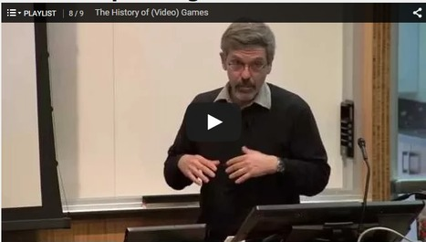 Video: Stanford seminars examine the societal impact of games | Differentiated and ict Instruction | Scoop.it