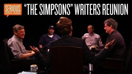 """""""The Simpsons"""" Writers Reunion – Serious Jibber-Jabber with Conan O'Brien 