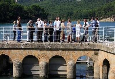 Visite guidée du bassin de décantation St Christophe   La Roque d'Anthéron   Office de Tourisme   Eaux de Marseille   Scoop.it