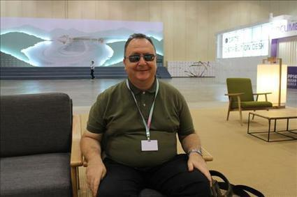 (ITU) (Yonhap Interview) Take risks, be visible, says blind interpreter | Fit for life and work | Scoop.it