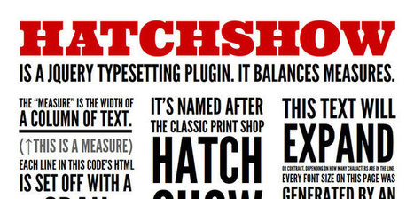 jQuery Plugins To Improve Your Web Typography | Web typography | Scoop.it