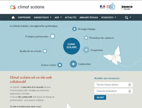 Climat scolaire, est un site web collaboratif + Guide | | Quand est-ce que ça d'école? | Scoop.it