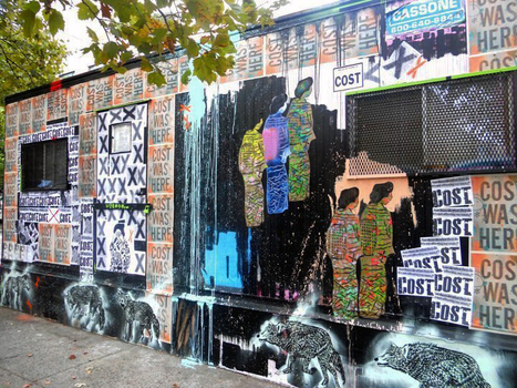 Centre-Fuge Public Art Project — Cycle 5 with ND'A & OverUnder, Chris & Veng, RWK, Icy & Sot, Billy Mode, Cost & Enx, Jose-Aurelio Baez & Noidone and See One | Street art news | Scoop.it