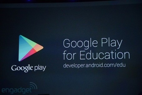 Google intros Play for Education, a curated portal for apps and books | iGeneration - 21st Century Education | Scoop.it