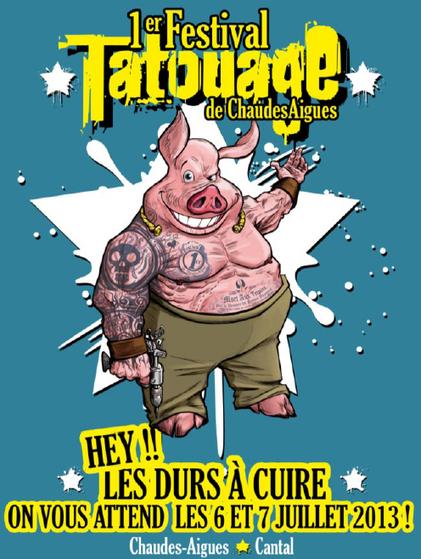 Festival du Tatouage : Chaudes-Aigues - 140 des plus grands ... - Capcampus | tattoo | Scoop.it