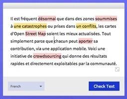 Corrigez vos fautes d'orthographe, dans 20 langues | Outils par ci par là | Scoop.it