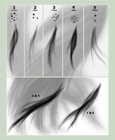 Pinceles de pelo para Photoshop | design | Scoop.it