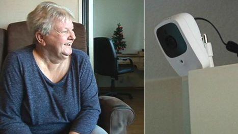 Kameraövervakning gör Laila trygg   Bredband   Scoop.it