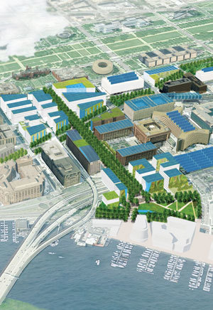 D.C. unveils plans for new green neighborhood | green streets | Scoop.it