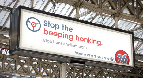 Gasoline Brand Urges Drivers to Stop 'Honkaholism' | Social Media and your Brand | Scoop.it