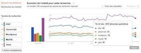 Développement : le top 10 des compétences 2012 | Informatique | Scoop.it