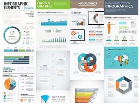 10 plantillas de infografías vectoriales gratis | Educacion, ecologia y TIC | Scoop.it