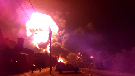 At least 5 killed, 40 still missing after Canadian oil train blast forces town evacuation (VIDEO, PHOTOS) | Commodities, Resource and Freedom | Scoop.it