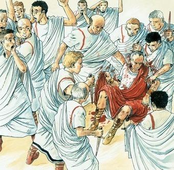 15 mars - 44 assassinat de Jules César | Racines de l'Art | Scoop.it