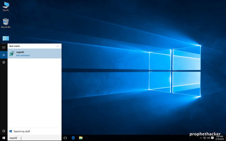 5 Methods For Opening Registry Editor In Windows 10 | prophethacker | Scoop.it