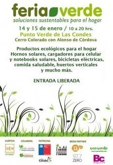 Feria Verde 14 y 15 de Enero   Emprendo Verde   ¡Cuidemos el Medio Ambiente!   Scoop.it