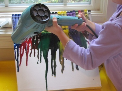 Melted crayon art in preschool | Teach Preschool | Scoop.it