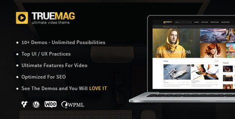 True Mag - Wordpress Theme for Video and Magazine | Daily Nulled WordPress Themes & Plugins | Scoop.it