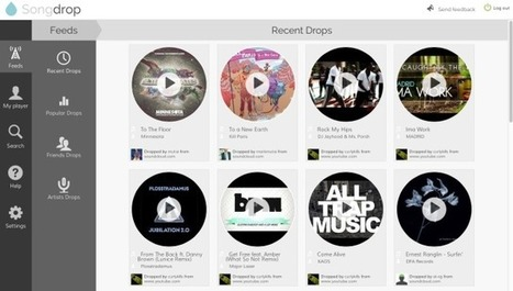 Songdrop Is the Virtual Online Crate So Start Digging | Show Up Public | Scoop.it