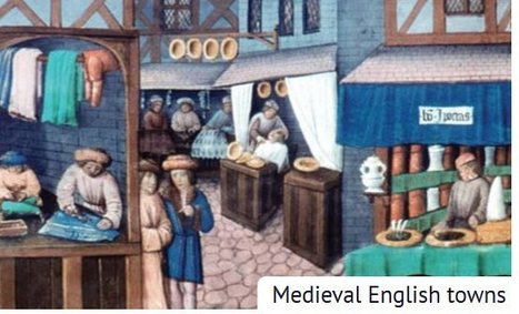 Towns in medieval England. | British life and culture | Scoop.it