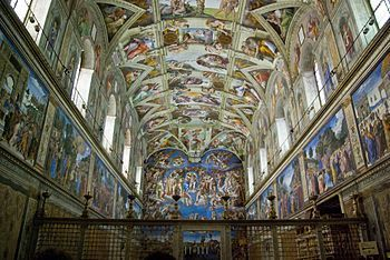 Sistine Chapel. Here you can watch a 3D view of the Chapel.   History, Geography and new technologies   Scoop.it