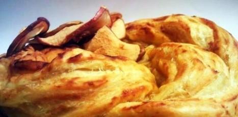 Treccia di farro con salsa di mela (senza burro)   Alimentazione Naturale, EcoRicette Veg e Vegan   Scoop.it