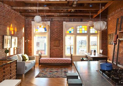 D coration et murs en briques apparentes - Decoration brique interieur ...
