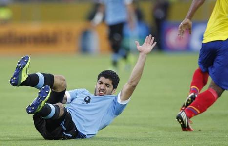 Luis Suarez may MISS World Cup through injury - England's hopes suddenly ... - Metro | World Cup | Scoop.it