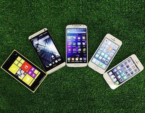 Le Top 10 des smartphones au 15 octobre 2013 | Geek & Games | Scoop.it