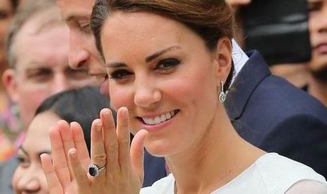 Kate's ring from Princess Diana soars to £300000 value   Rewarding Shopping   Scoop.it