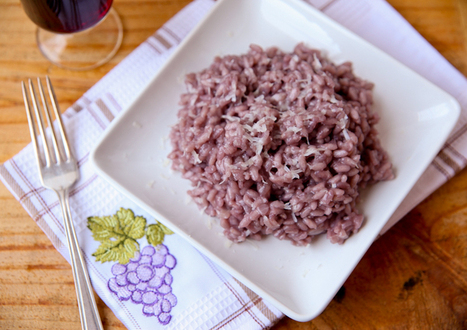 Red Wine Risotto Recipe at Girl Meets Food   Dry Red Wine Tips   Scoop.it
