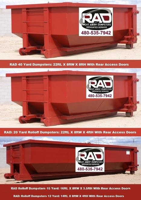 RAD Mesa AZ Roll-Off Dumpster Rentals for Small Businesses | Dumpster Rentals | Scoop.it