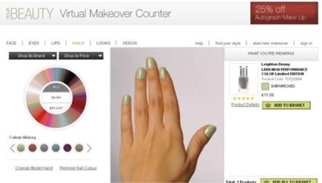 Se vernir les ongles virtuellement     CA Com   E-commerce, M-commerce : digital revolution   Scoop.it