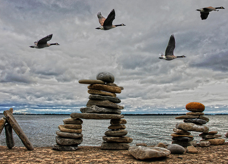 Inuksuit: Inuit Art at its finest | Inuit Nunangat Stories | Scoop.it