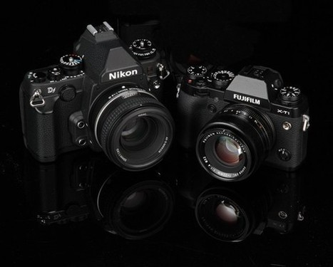 Fujifilm X-T1 vs Nikon Df | What Digital Camera | Fujifilm X-series | Scoop.it