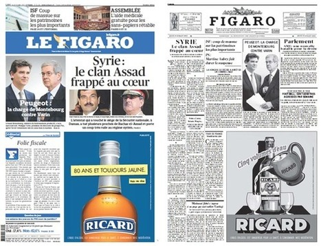 Ricard celebrates its 80 years with Le Figaro   Brand content   Scoop.it