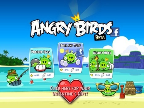 Angry Birds Finally Lands On Facebook, Here's How To Get Started | Redmond Pie | FASHION & LIFESTYLE! | Scoop.it
