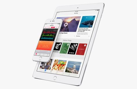 Apple erkent problemen met iOS 9.3-update, zo los je ze op | Annerie's knipsels | Scoop.it