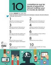 Karsenti, T. (2014). 10 compétences que les jeunes d'aujourd'hui doivent maîtriser pour le monde de demain. Montréal: CRIFPE. | Les 1, 2, 3 ... de la pédagogie universitaire avec TIC ou pas | Scoop.it