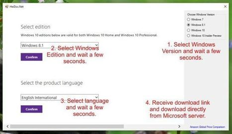 Microsoft Windows ISO Download Tool | Actus vues par TousPourUn | Scoop.it