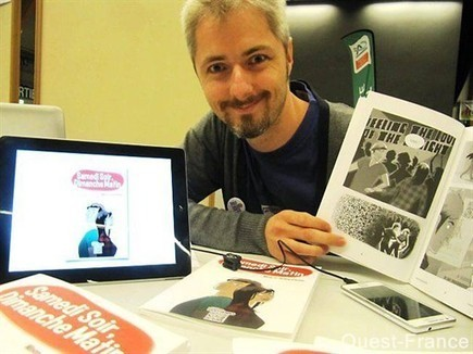 David Le Meur met la bande dessinée à l'heure numérique | QRdressCode | Scoop.it