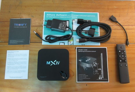 Tronfy MX4 Telos Android 5.1 TV Box Unboxing and Teardown | Embedded Systems News | Scoop.it