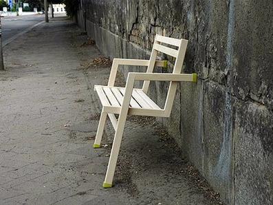 Leaning with style : a chair to trust. An Lega by Simone Harbert | Du mobilier, ou le cahier des tendances détonantes | Scoop.it