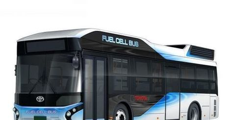 Toyota's New Hydrogen Buses Are Heading to Tokyo | MishMash | Scoop.it