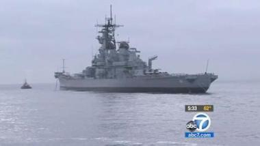 USS Iowa ready to be towed to Port of LA | abc7.com | Share Some Love Today | Scoop.it