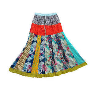 Mogulinterior Maxi Skirt Multi Color Patchwork Hippie Long Skirts for Women - Clothing, Shoes & Jewelry - Clothing - Women's Clothing - Women's Regular Clothing - Women's Regular Skirts | Bohemian Harem Pant | Scoop.it